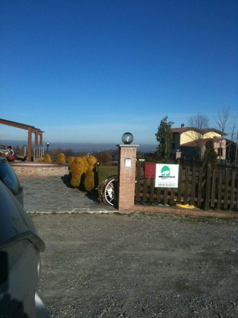 Agriturismo Miranti Azienda Agricola : ingresso