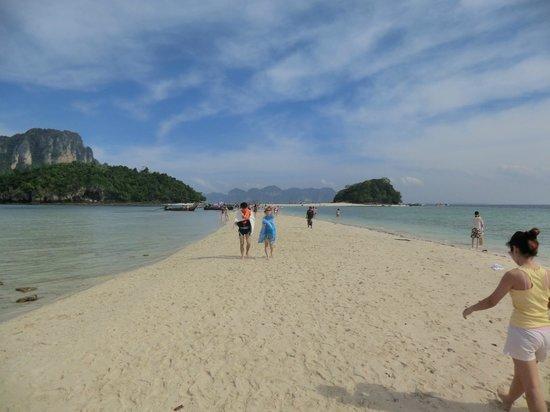 The Beach Boutique Resort:                   4-Island-Tour wunderbar
