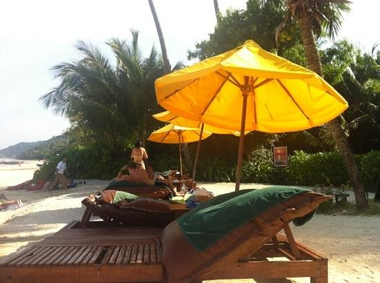 Zeavola Resort : spiaggia vicino bar