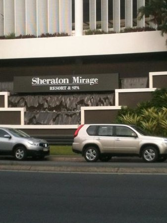 Sheraton Grand Mirage Resort, Gold Coast: the front of the resort
