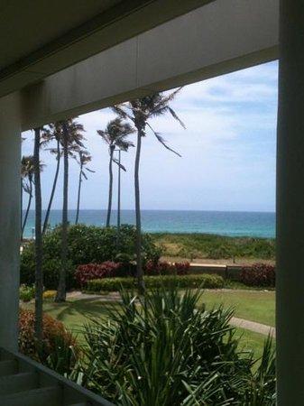 Sheraton Grand Mirage Resort, Gold Coast: ocean view king premium suite view