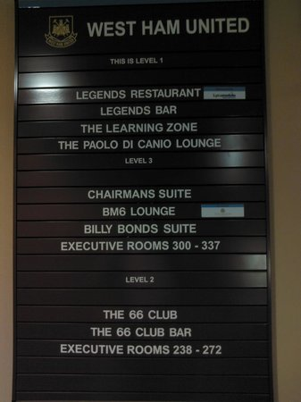 West Ham United Hotel: Suite e lounge