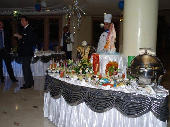 Hasdrubal Prestige Thalassa & Spa Djerba: Buffet Apéritief Reveillon