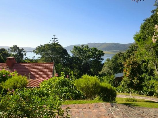 Double Dutch B & B: view on Knysna bay
