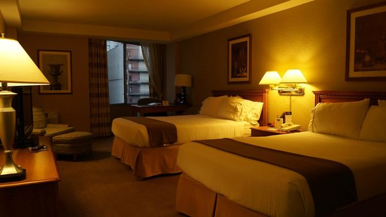 Holiday Inn Express Philadelphia-Midtown: Double room, non smoking