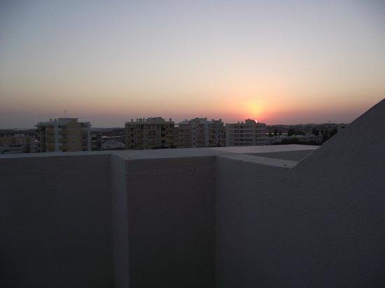 Hotel Alnacir: mooi uitzicht vanaf balkon bovenste verdieping