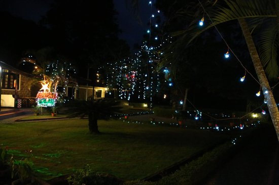 KTDC Lake Palace Thekkady: Christmas and new year lighting