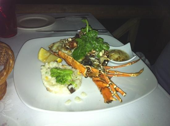 """La Pirogue Resort & Spa-Mauritius: notre repas langouste au """" Paul et virginie """""""