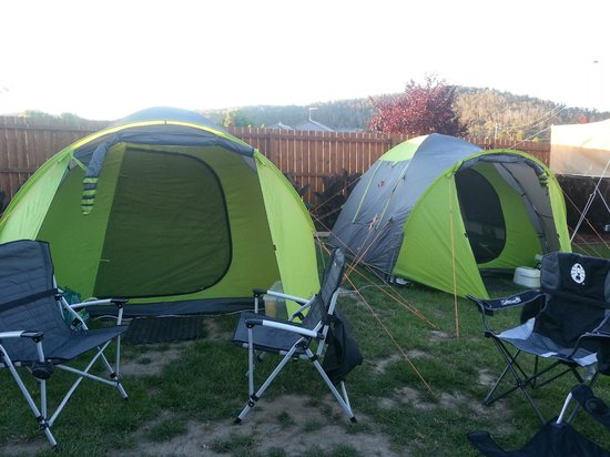 Discovery Parks - Hadspen: 2 tents