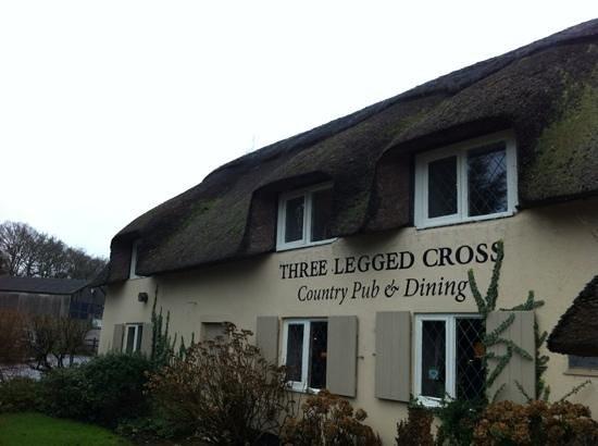 The Three Legged Cross: Outside