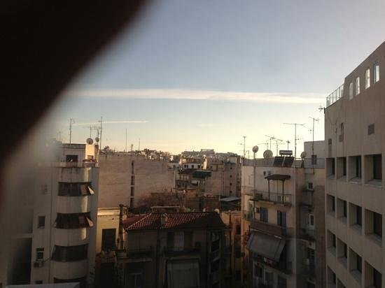 Novotel Athenes: view from 623