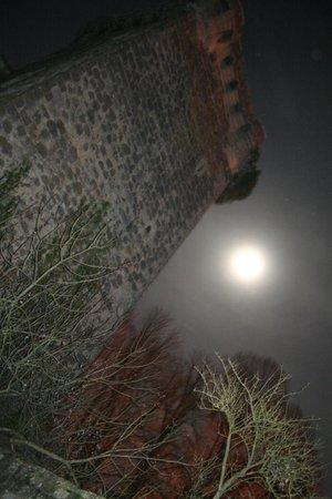 Chateau de Saint-Loup: Tour Carrée de nuit