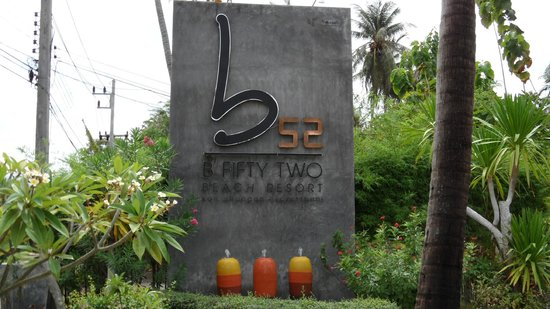 B52 Beach Resort: Entrada Hotel