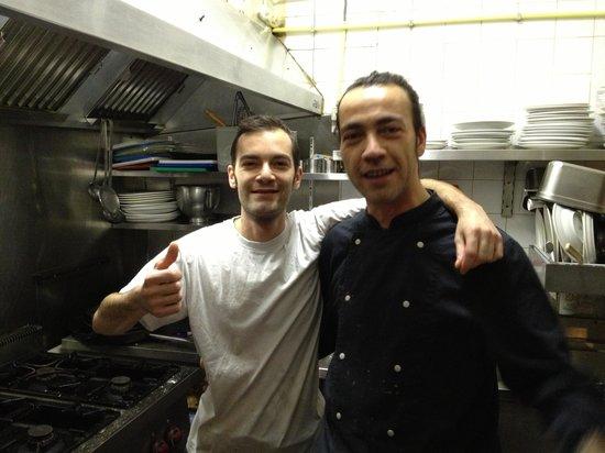 The happy chefs at Donna Sofia