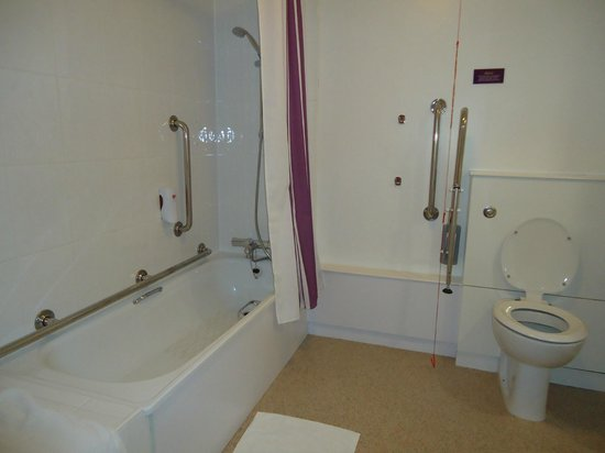 Premier Inn Birmingham Central Hagley Road Hotel Disabled Bathroom