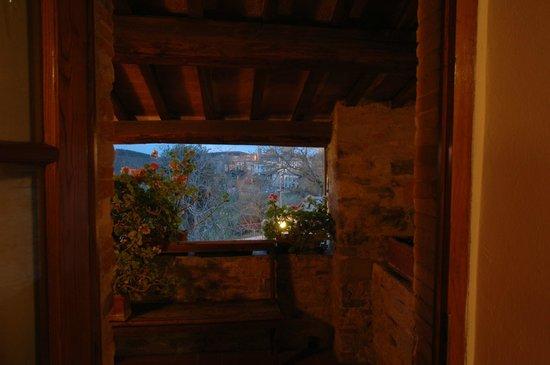 Hotel Il Colombaio: il panorama di Castellina
