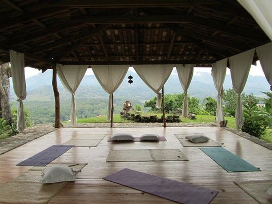 Hacienda San Lucas: Gaia, a meditation, yoga, and massage pavillion