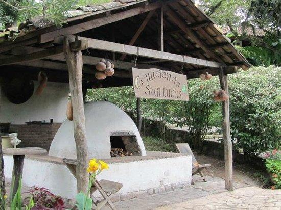 Hacienda San Lucas: Hacienda grounds
