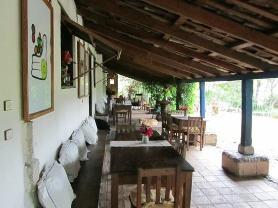 Hacienda San Lucas: Dining area