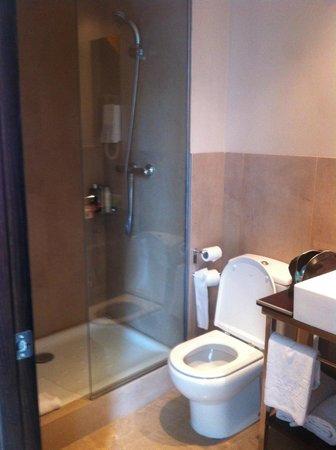 Hotel SERHS Del Port: Simple bathroom