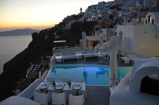 Chromata Hotel: Les terrasses