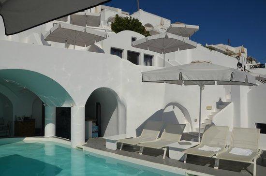 Chromata Hotel: Encore les terrasses