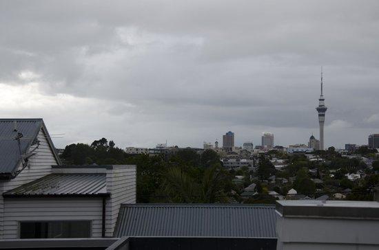 Sunderland House: Vistas de Auckland desde la habitación