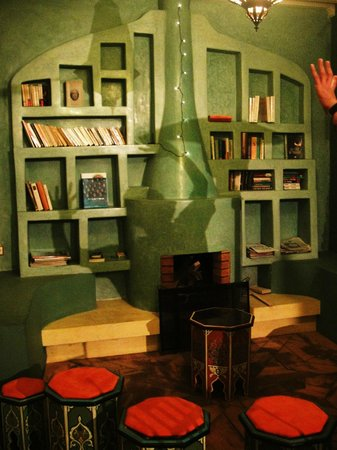 Riad Aicha: Library 