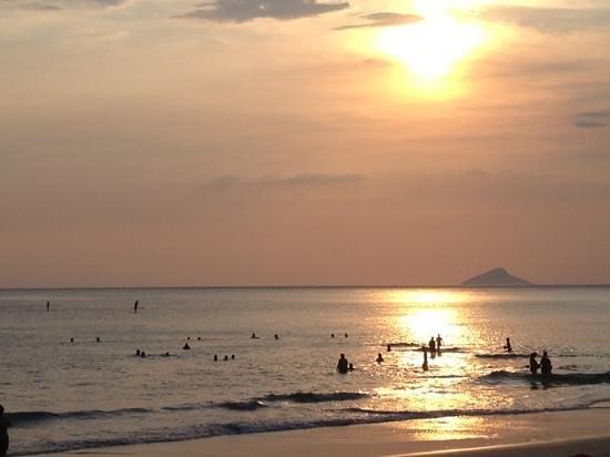 Praia de Maresias: por-do-sol em Maresias