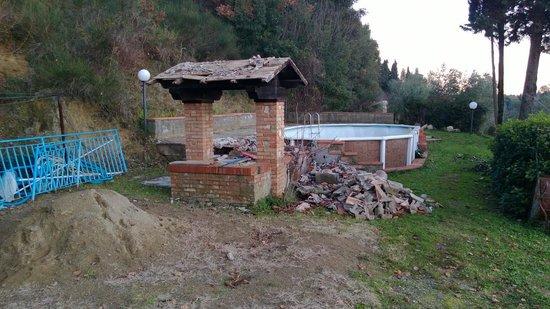 Villa del Sole: La piscina....