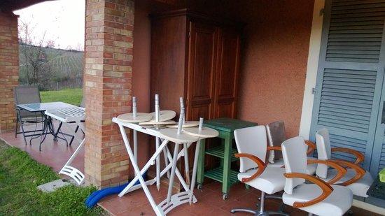 Villa del Sole: Un deposito a vista....