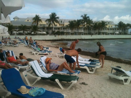 Southernmost Beach Resort: A real picture of the beach