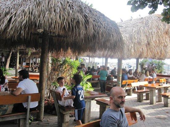 Monty's Coconut Grove: Terrasse