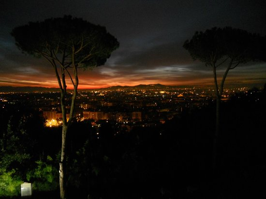 Rome Cavalieri, Waldorf Astoria Hotels & Resorts: View from the balcony