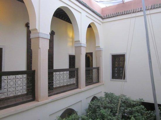 Riad Dar Dialkoum: Zugang zu unserem Zimmer