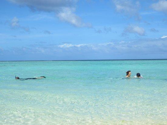 Fiesta Resort Guam: この透明度!