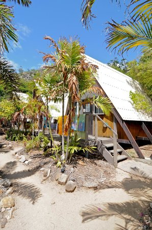 Base Backpackers Magnetic Island: The bungalows