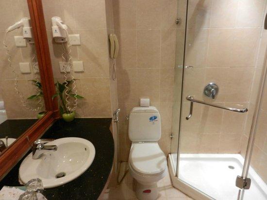 Prum Bayon Hotel: Bad