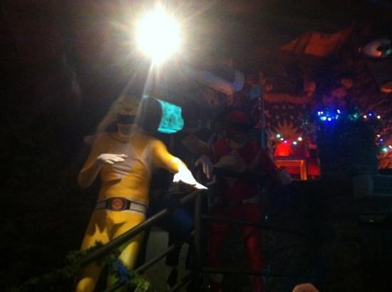 Fat Albert's: morphin power rangers at new years eve!