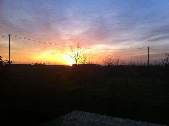 Les Petites Cigognes: Sun set