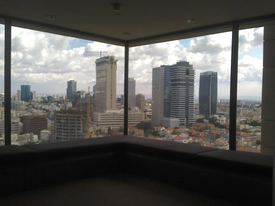 InterContinental David Tel Aviv: View from floor elevators