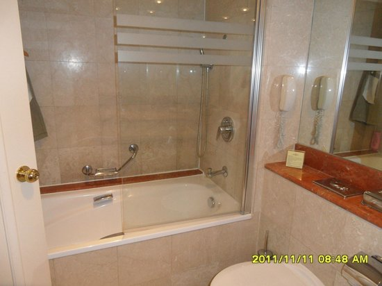 InterContinental David Tel Aviv: Baathroom
