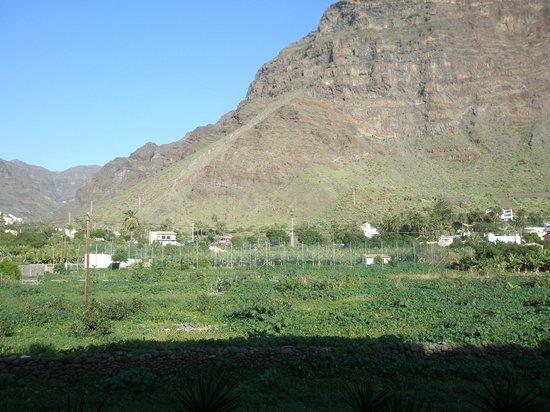 Valle Gran Rey, Hiszpania: vistas desde la terraza