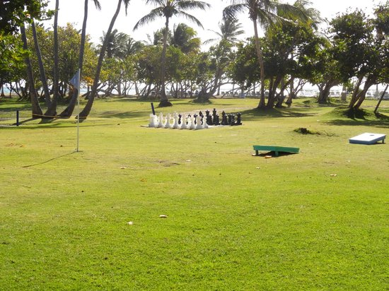 Las Casitas Village, A Waldorf Astoria Resort: Giant Chess - this is on private island, and there's also one poolside at El Conquistador
