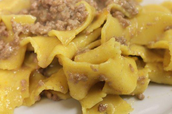 Moro Restaurant: Pappardelle di pasta fresca con ragù d'oca