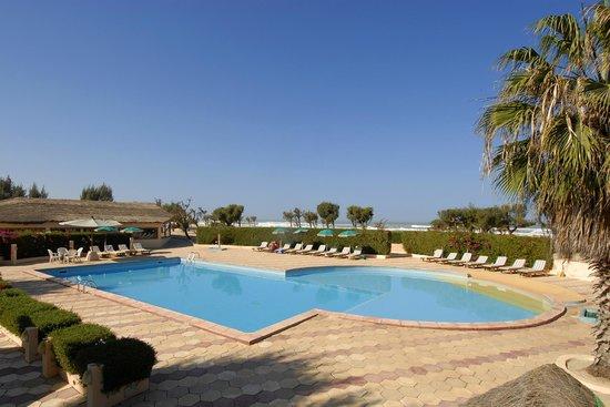 Hotel Cap : Piscine face à l'océan