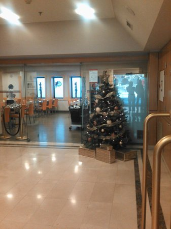 Hotel Via Augusta: Кафе в отеле