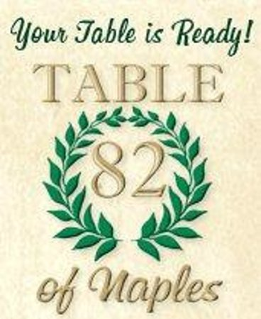 Table 82 of Naples: Casual Italian dinning