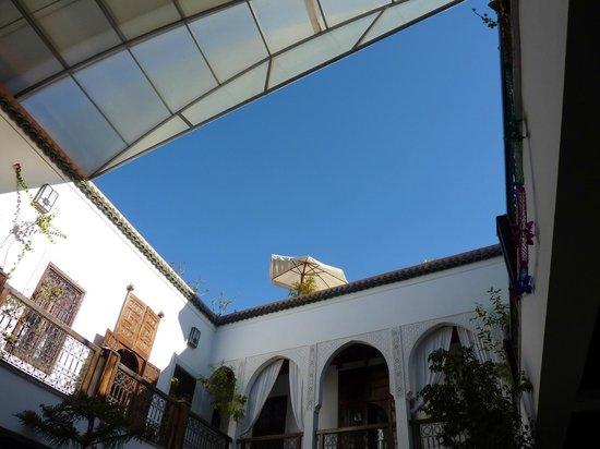 Riad Kasbah: le toit rétractable