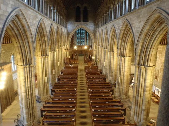 Dunblane Cathedral: Inside from the balcony